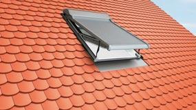 Ein Dachflächenfenster