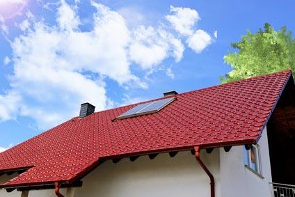 haus mit dachfenster